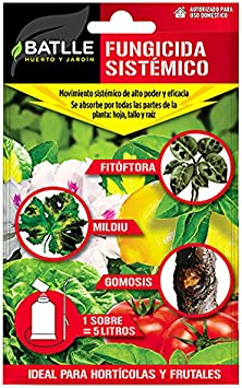 Fitosanitarios - Fungicida sistémico sobre para 5 l. - Batlle