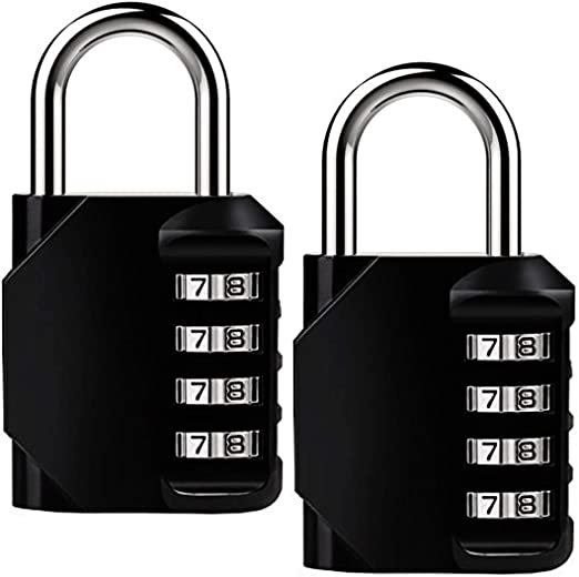 ISIYINER Candados de código de seguridad con combinaciones de 4 ...