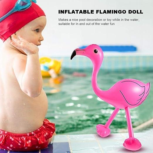 Flamenco rosa hinchable - Accesorios para piscina de juego ...