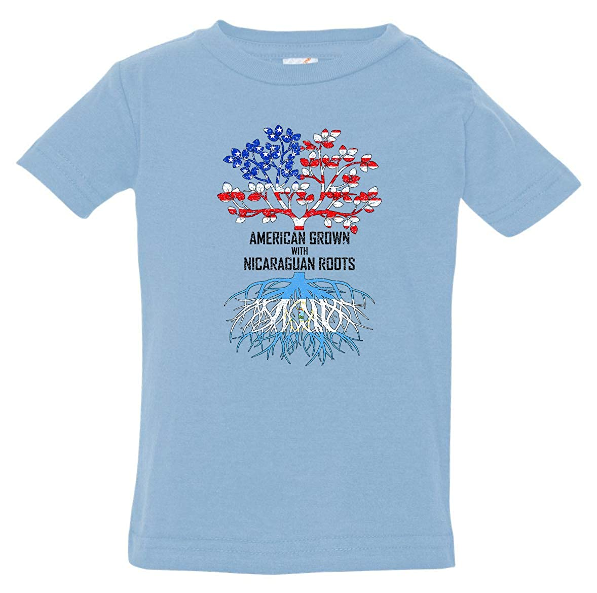 Tenacitee Babys American Grown with Nicaraguan Roots Shirt