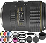 Cheap Tokina 100mm f/2.8 at-X M100 AF Pro D Macro Autofocus Lens for Canon EOS 18PC Kit Which Includes Manufacturer Accessories + 3 Piece Filter Kit (UV-CPL-FLD) + 6 Piece Graduated Color Filter Kit + More