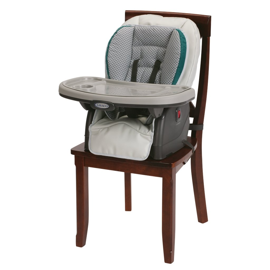 Graco Blossom 4-in-1 Convertible High Chair Seating System, Sapphire by Graco (Image #2)