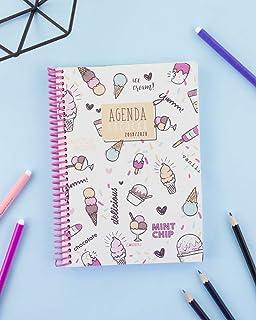 Agenda Escolar 1 Día/Página 2019-2020 Club, 12x17, color ...