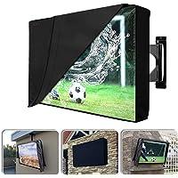 Homeya - Funda para TV al aire libre con forro resistente a los arañazos, impermeable, resistente al polvo, protector de…