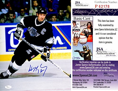 - Wayne Gretzky Signed - Autographed Los Angeles Kings 11x14 inch Photo - JSA Certificate of Authenticity