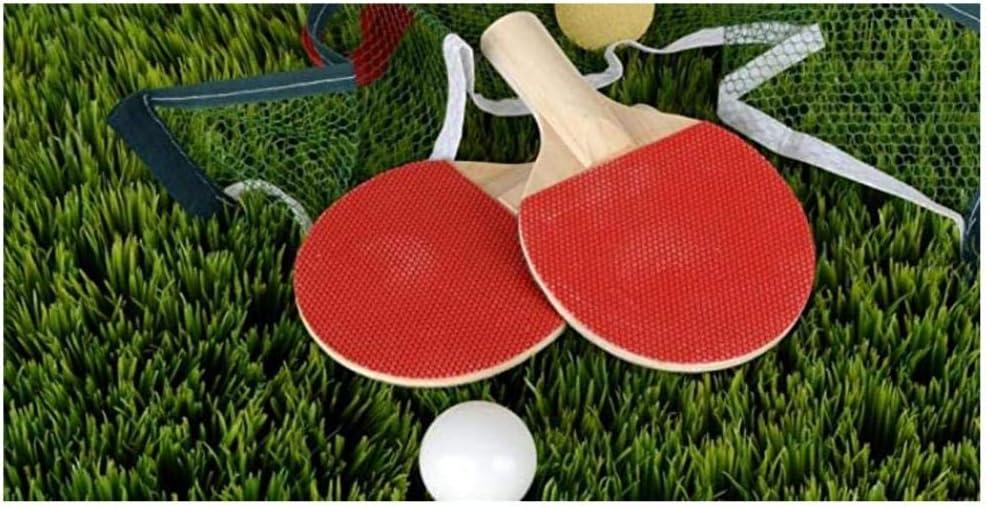 txtnt 1000 Piezas de Raquetas de Tenis de Mesa y Tenis de Mesa Rompecabezas de Madera para Adultos Juguetes educativos para niños Juegos Casuales Rompecabezas Familiar Mural