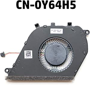 NBFAN Laptop Replacement Cooler Fan for DELL Inspiron 7570 7573 7580 CPU Cooling Fan CN-0Y64H5