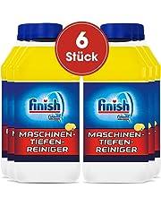 Finish Maschinentiefenreiniger Citrus, Spülmaschinenreiniger, Maschinenpfleger gegen Kalk und Fett, 6er Pack (6 x 250 ml)