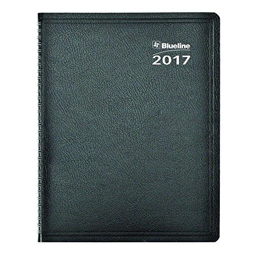 Blueline 2017 Net Zero Carbon Monthly Planner, Soft Black Cover, 11 x 8.5