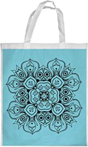 Decorative Drawings - Rose Printed Shopping bag, Small Size