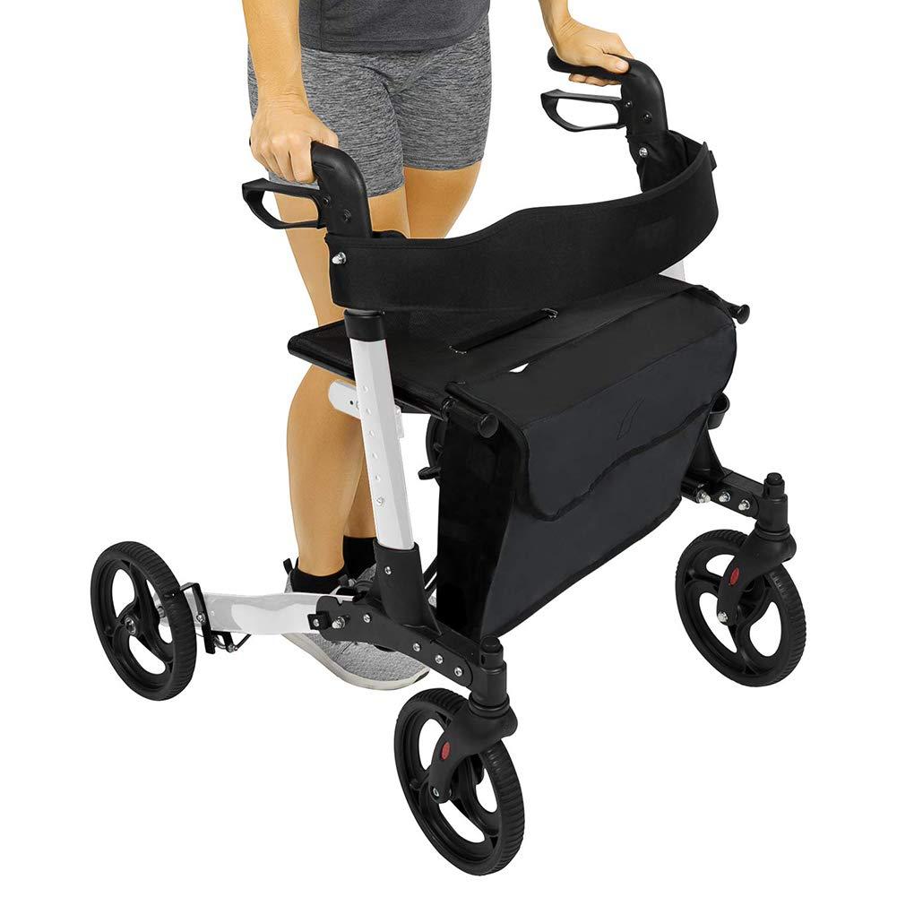 ZZYYZZ Mobiclinic Andador, Andador rodante médico de 4 ...