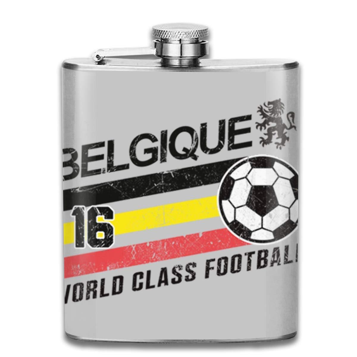 Euro 2016 - Flagón de bolsillo con diseño de balón belga de fútbol ...