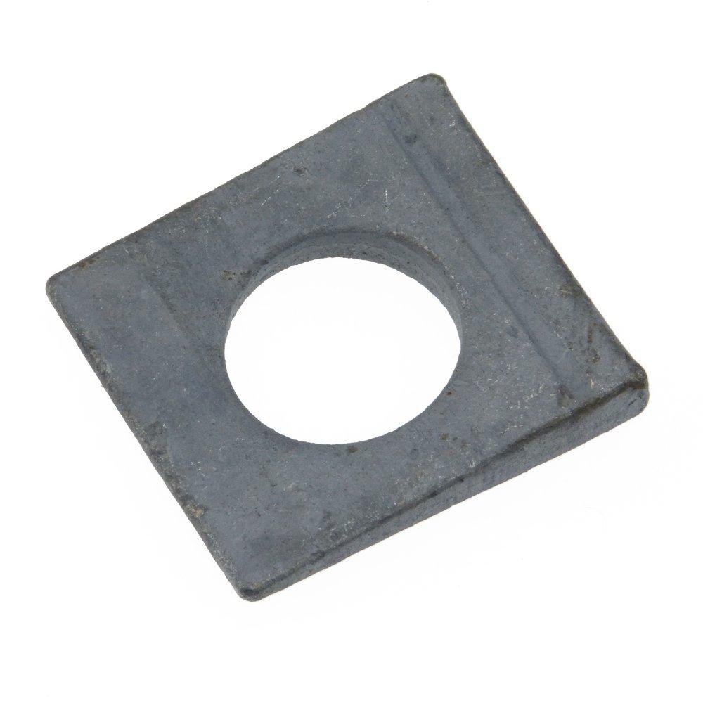 Scheibe DIN 435 Stahl feuerverz. Ü H vierkant Neigung 14% keilfö rmig 11 - 100 Stü ck SchraubenGigant