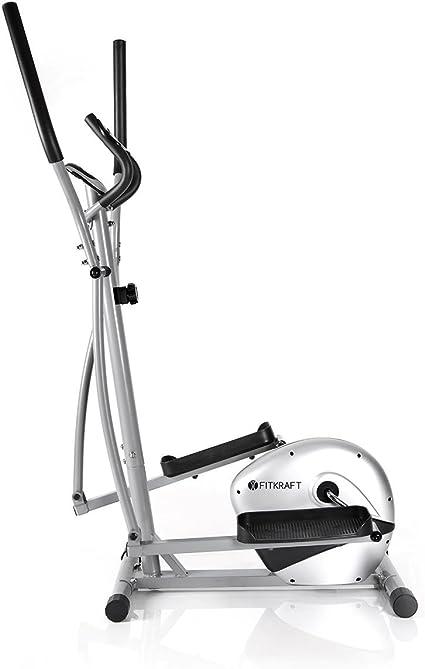 FitKraft - Bicicleta elíptica (Resistente, con Ordenador y ...