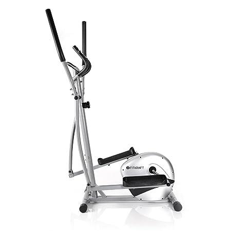 FitKraft - Bicicleta elíptica (Resistente, con Ordenador y pulsómetro): Amazon.es: Deportes y aire libre