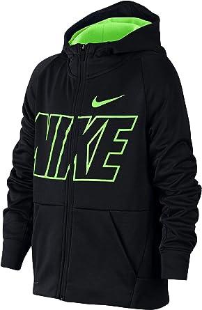Nike B Nk Dry GFX FZ Hoodie Full Zip LS Top, Kinder