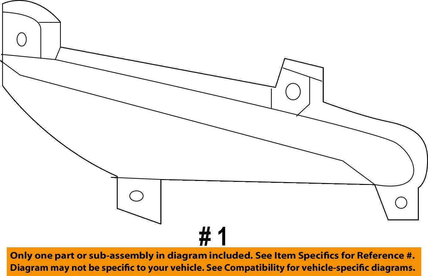 Genuine Hyundai 92406-2W200 Reflector//Reflex Assembly Rear Right