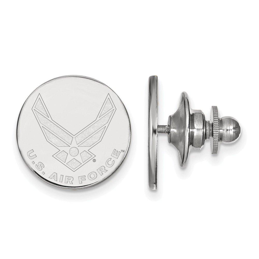 Logoart Sterling Silver U.s. Air Force Academy Tie Tac