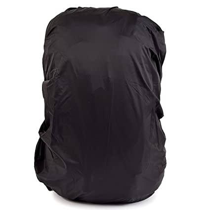 d7c81342cf Image Unavailable. Image not available for. Color  LEDMOMO Waterproof  Backpack Rain Cover Rucksack Rainproof Pack Cover for Hiking Camping  Traveling 45L ...