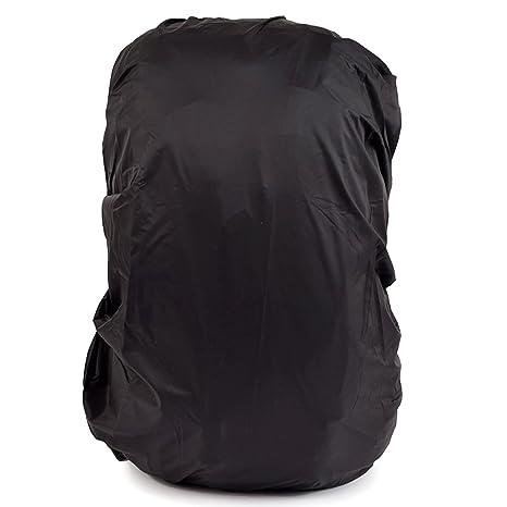 ledmomo mochila mochila resistente al agua de lluvia para Camping senderismo – 45L (negro)