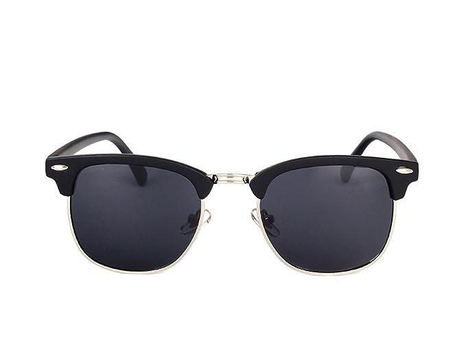 2180e628a7dbd Amazon.com  Dormery Square Polaroid Men Sunglasses Women Brand Designer  Fashionsun glasses oculos de sol feminino MA016 NO1 Matte Black  (7900246813538)  ...