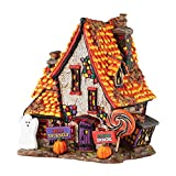 Department 56 Halloween Village Sweet Trappings Cottage Lighted Building 4051012
