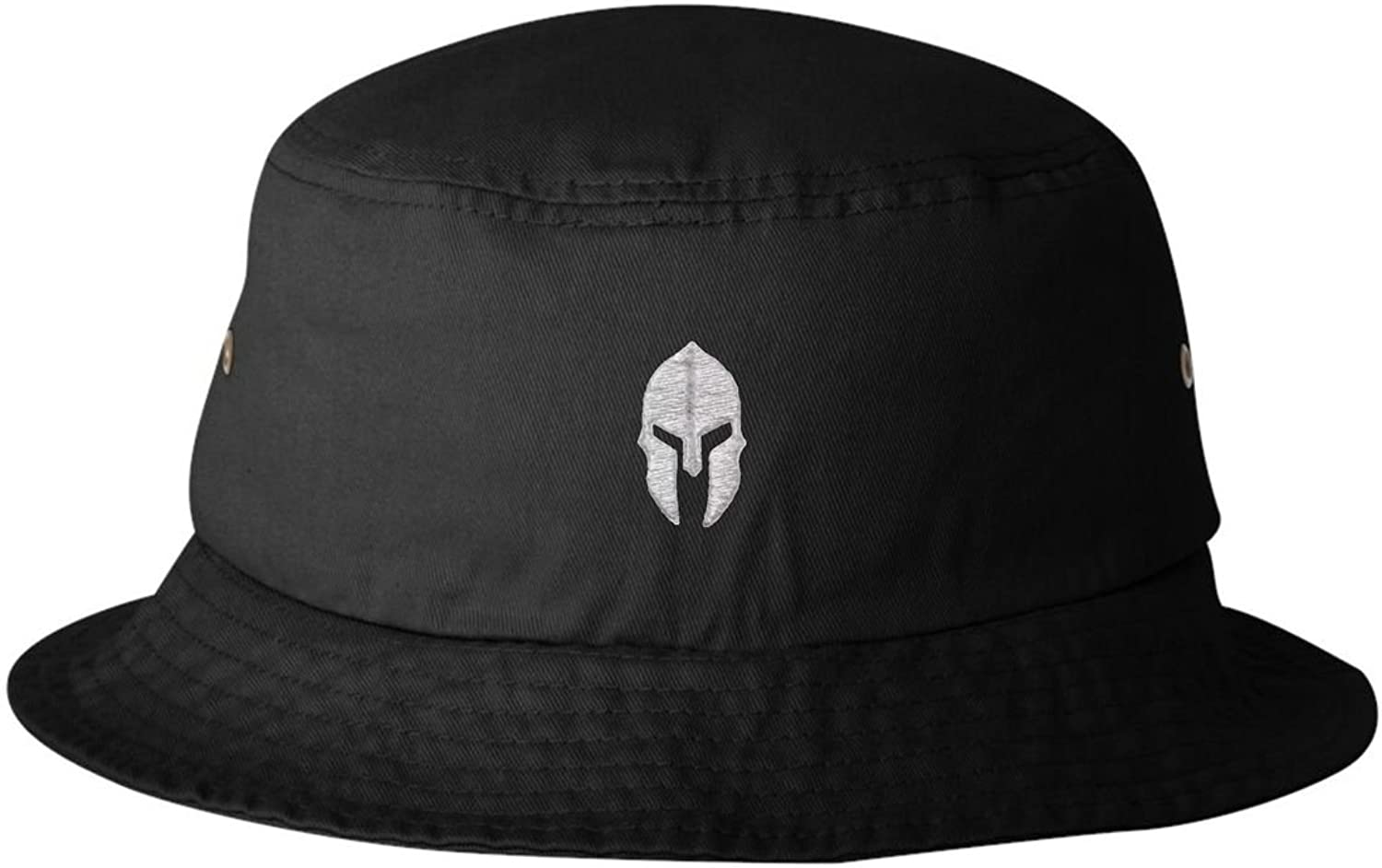 Adult Spartan Warrior Helmet Embroidered Bucket Cap Dad Hat