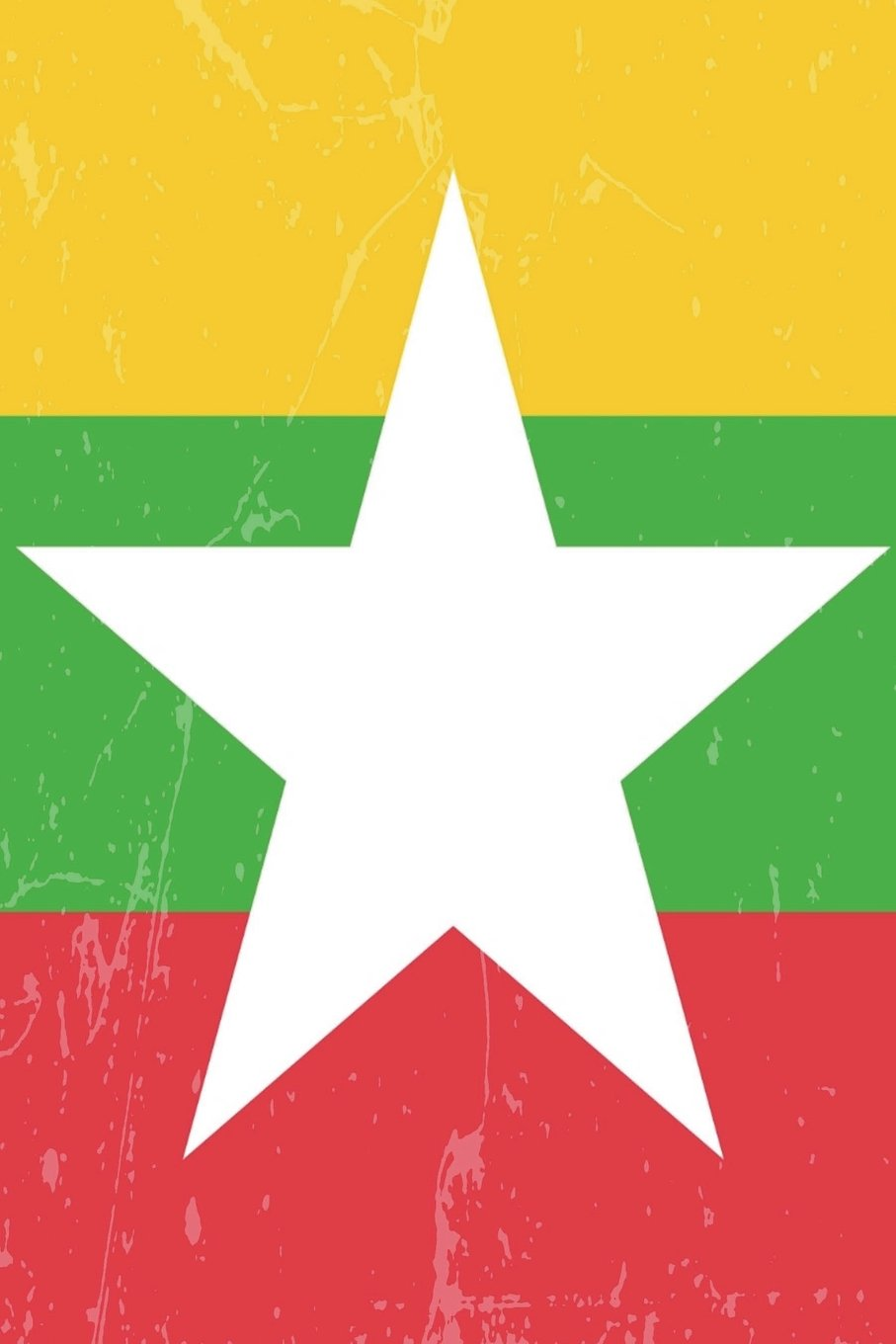 Myanmar Flag Journal: Myanmar Travel Diary, Holiday Souvenir Book, lined Journal to write in pdf epub