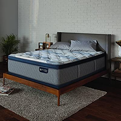 Serta Icomfort 500820873-1030 Icomfort Hybrid Bed Mattress Conventional, Full, Gray