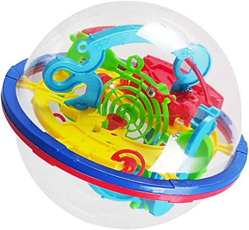 Juguetes Juegos Educativos Aprendizaje Rompecabezas 3D Bolas Laberinto Tridimensional Niños: Amazon.es: Juguetes y juegos