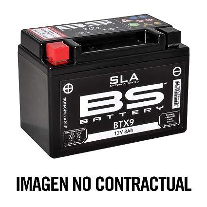 BS Battery 300672 btx7 a AGM SLA Batería de Moto, Color ...