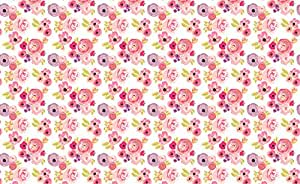 Indy Bloom Design Fabric Indy Bloom Design Rosie Rainbows B by Indybloomdesign Printed on Sport Lycra Fabric by the Yard by Spoonflower