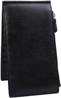 Carte de crédit Porte-Organizer Bag Wallet Card avec 18 fentes de cartes, Noir Blancho Bedding