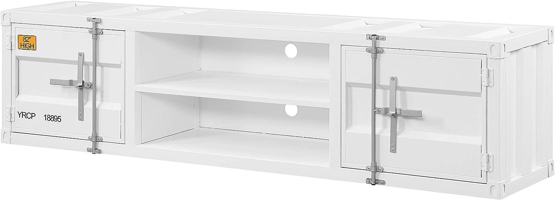 ACME Cargo TV Stand - - White