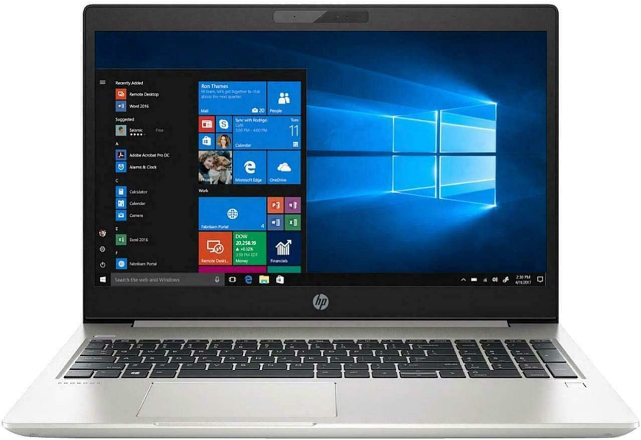"HP ProBook 450 G6 15.6"" HD Business Laptop (Intel Core i5-8265U, 4GB Memory, 500GB Hard Drive, Intel UHD Graphics 620) Windows 10 Pro"