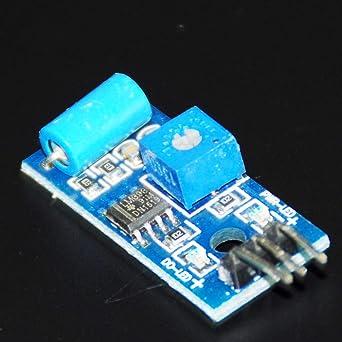 Fevas SW-420 Sensor for Arduino Digital Vibration Tilt Shake Shock Sensor Module Motion Alarm