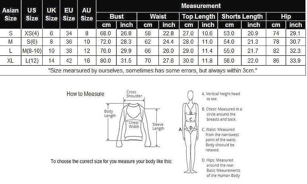 Nameyio Women Sport Yoga Sweatsuit Crop Top Shorts 2-Pieces Activewear Active Tracksuits