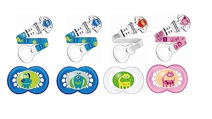 Mam Anneau - Chupete de silicona para bebés de más de 18 meses [modelo surtido]