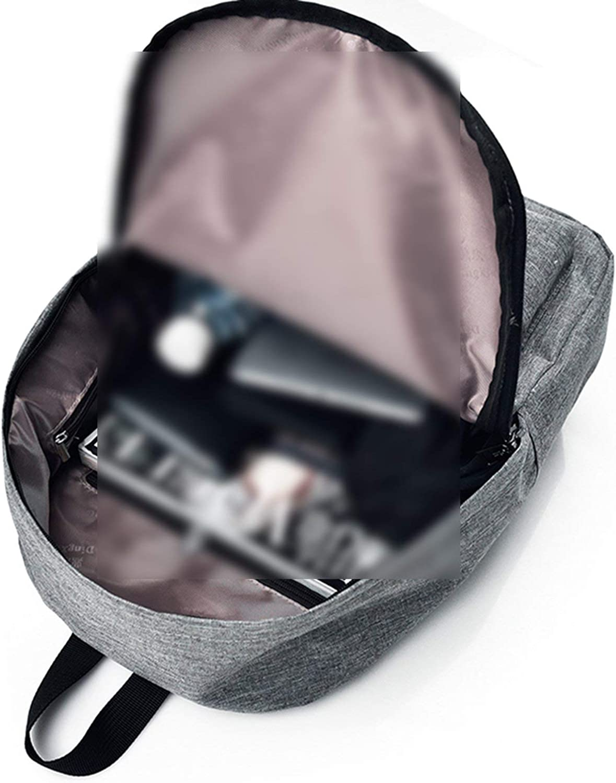 2Pcs//Set Women Backpack Female School Bag Canvas Women Backpack Usb Charging Backpacks For Teenage Girls Shoulder Bag