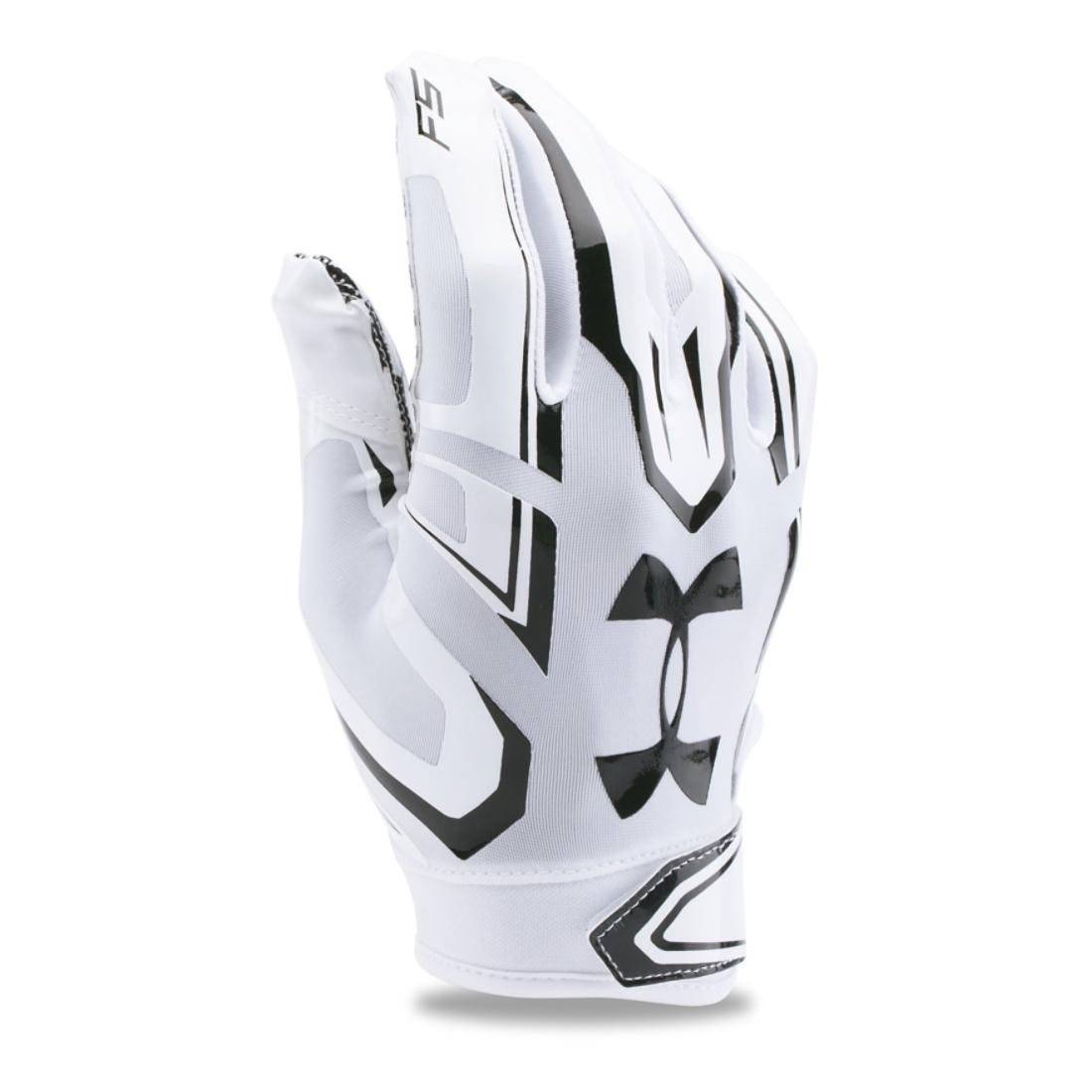 Under Armourメンズf5 Football Gloves B01A6LY8CI ホワイト/ブラック X-Large X-Large|ホワイト/ブラック