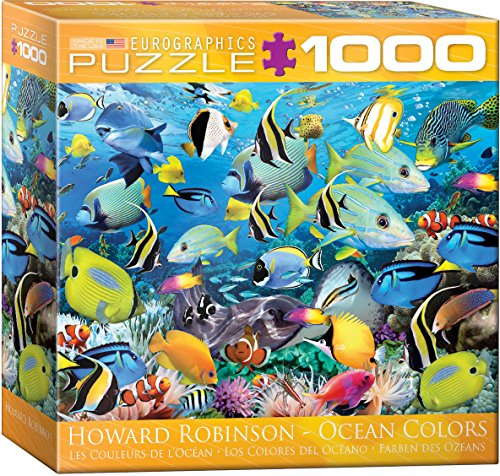 EuroGraphics Color Reef by Howard Robinson Jigsaw Puzzle (8000 Jigsaw Puzzle)