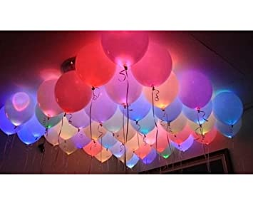 Amfin led light decoration balloons for various occasions pack of amfin led light decoration balloons for various occasions pack of 25multicolor junglespirit Gallery