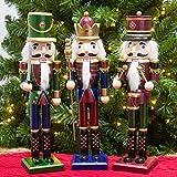 KI Store Christmas Nutcracker Set of 3 15-Inch
