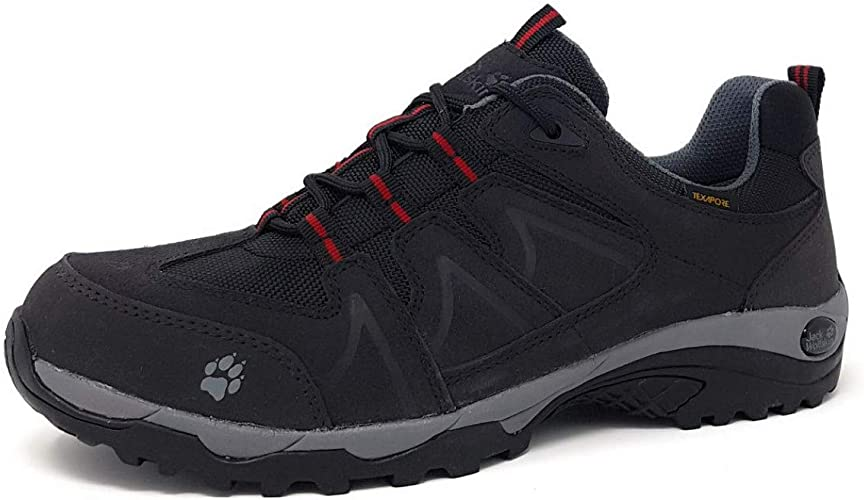 Trekking Low Texapore Jack Herren Wolfskin Traction WED2HI9Y