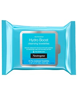 Neutrogena Hydro Boost Cleansing Wipes 25 Count (Pack of 2)