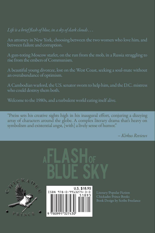 A Flash Of Blue Sky Alon Preiss 9780991327430 Amazon Books