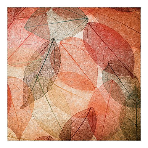 Creative Converting Autumn Fall Leaves Disposable Lunch Napkins - 16 ()