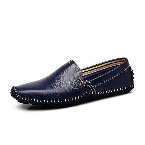 XIGUAFR - Mocasines de Otra Piel Hombre: Amazon.es: Zapatos y complementos