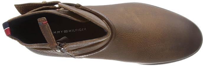 Tommy Hilfiger Billie 8 A, bottes femme Marron Cognac 42