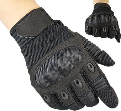 K-mover Mens Tactical Gloves Hard Knuckle Full Finger Military Gear Gloves Wear-Resistant Cycling Gloves Full Finger Gloves for Driving,Shooting,Hunting